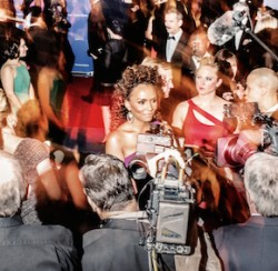 White House Correspondents Dinner Janet Mock by Philip Montgomery for MSNBC