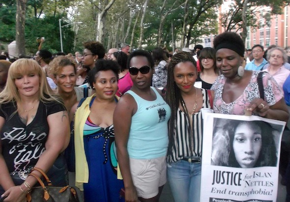 for islan nettles us a letter to trans women at her vigil janet