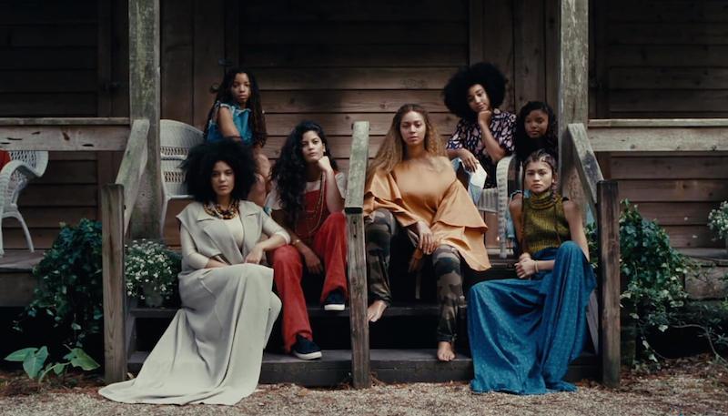 Beyonce's sister circle features Zendaya & Amandla